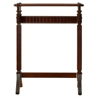 Powell Merlot Quilt Rack & Reviews | Wayfair