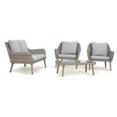 Four Seat Sofa Set Paint Maze Rattan Paris 4 Seater With Cushions Wayfair Uk