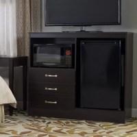 Lang Furniture No Da Combination Mini Refrigerator and ...