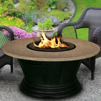 California Outdoor Concepts San Simeon Chat Height Fire