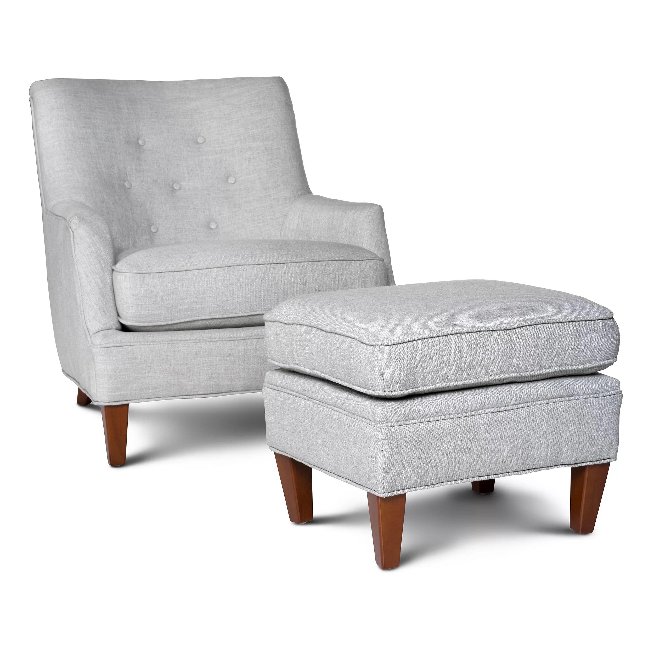 Opulence Home Fredrick Club Chair and Ottoman & Reviews