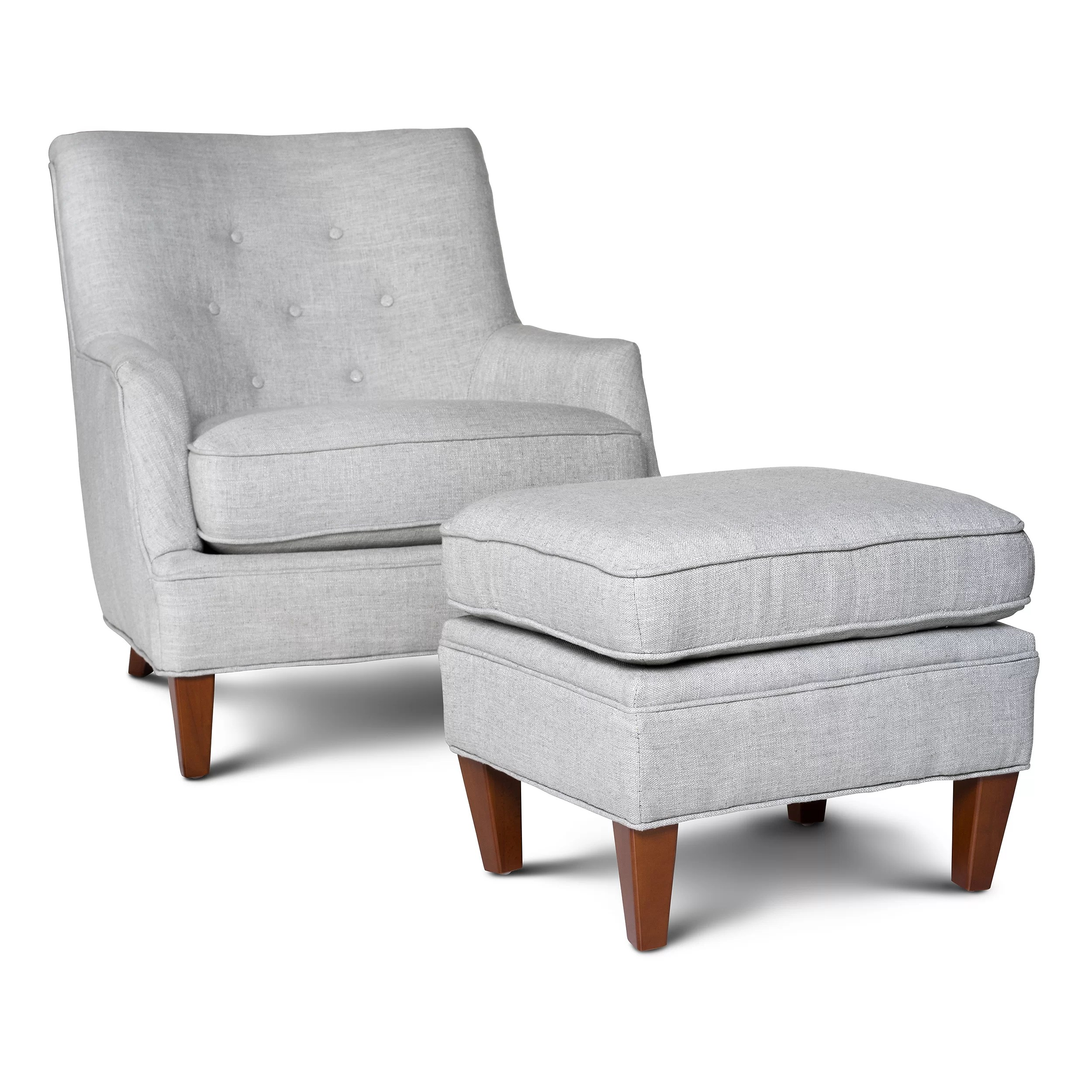 Wayfair Club Chairs Opulence Home Fredrick Club Chair And Ottoman And Reviews