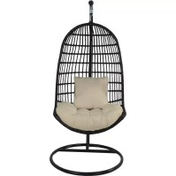 Patio Heaven Skye Bird's Nest Swing Chair with Stand