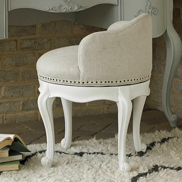 Smartstuff Furniture Bellamy Swivel Vanity Seat &