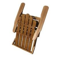 String Light Co Wood Folding Adirondack Chair & Reviews ...