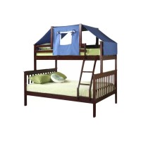 Donco Kids Donco Kids Twin over Full Futon Bunk Bed ...