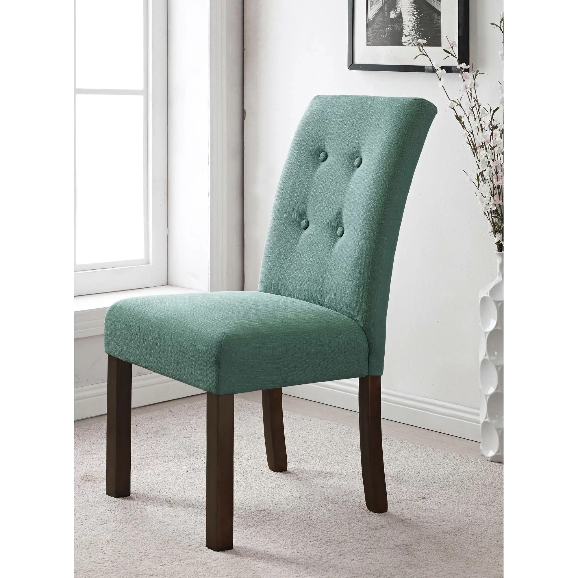 Parson Chair Homepop Republic Upholstered Parsons Chair And Reviews Wayfair