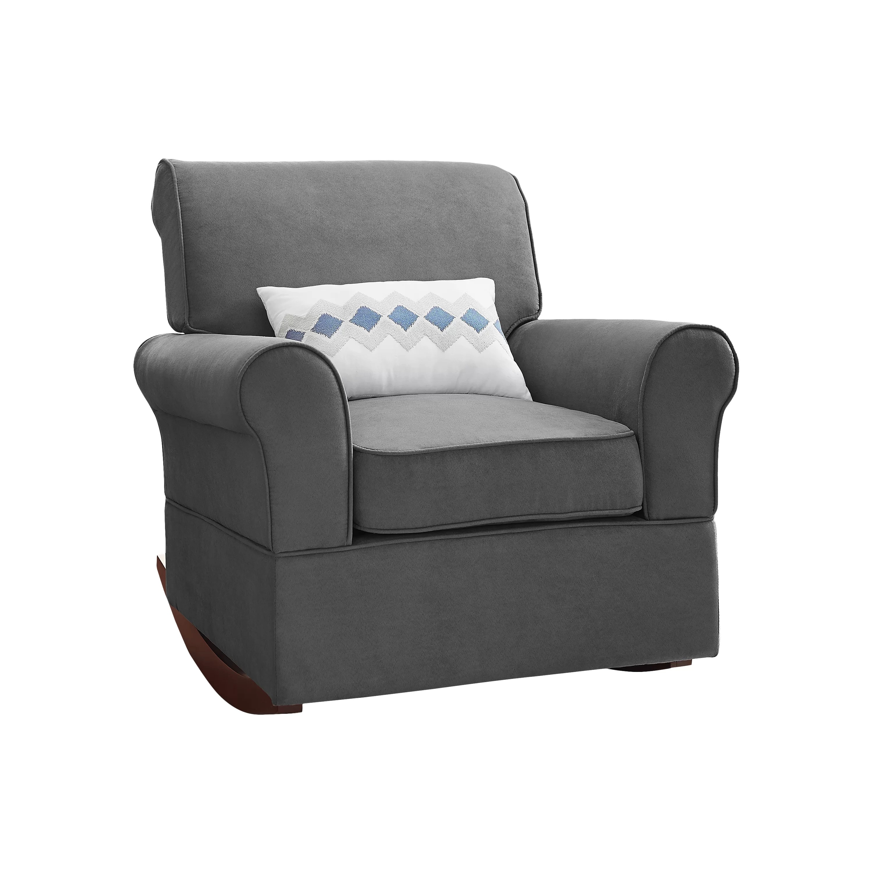 dorel rocking chair reclining beach with footrest living baby relax mackenzie rocker and ottoman