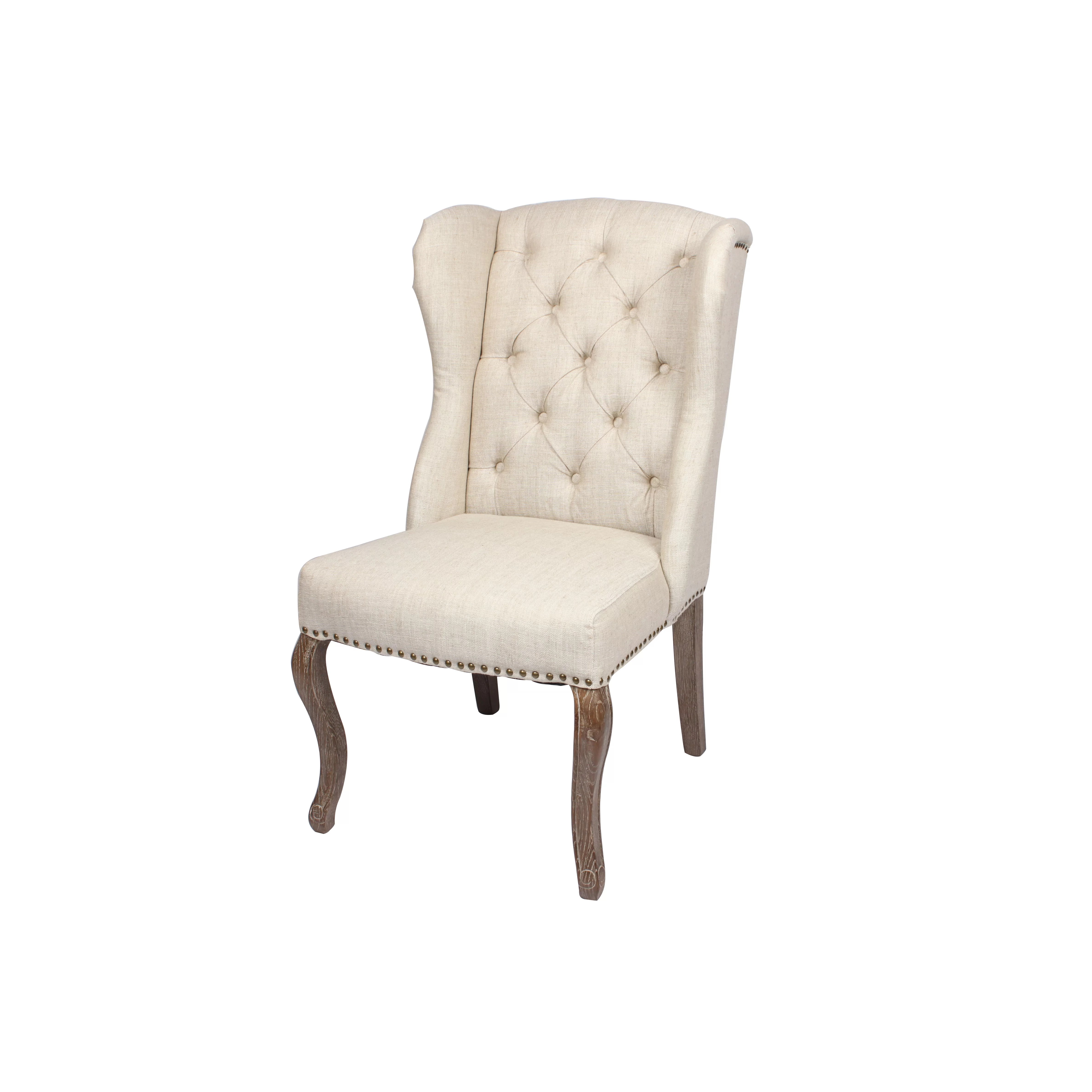 Blink Home Kensington Wingback Chair  Wayfair