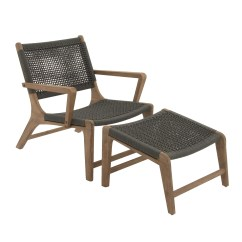 Patio Chairs With Footrests Affordable Office Johannesburg Woodland Imports Chair Footrest And Reviews Wayfair