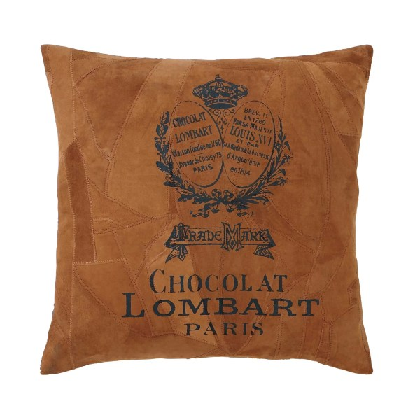 Woodland Imports Faux Leather Throw Pillow & Reviews   Wayfair