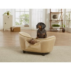 Enchanted Home Mackenzie Pet Sofa Bed Ebay Kent Ultra Plush Snuggle Dog With