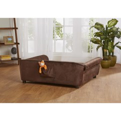 Enchanted Home Mackenzie Pet Sofa Modern Sofas Made In Canada Ultra Plush Outlaw Dog And Reviews
