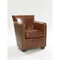Leathercraft Tahoe Leather Club Chair | Wayfair