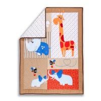Dream On Me Jungle Babies Portable 5 Piece Crib Bedding ...