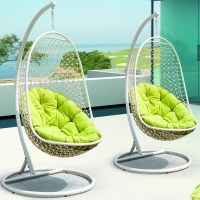 Modway Encounter Swing Chair with Stand & Reviews | Wayfair