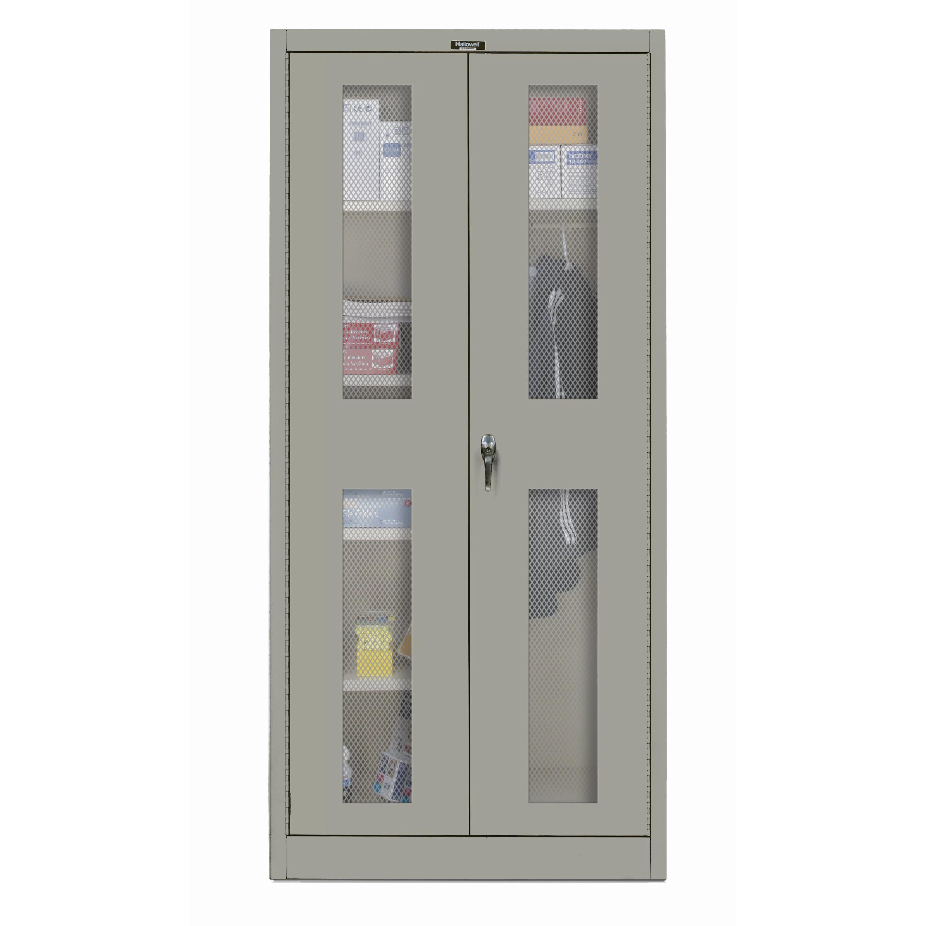 Hallowell 400 Series 72H X 48W X 24D Storage Cabinet