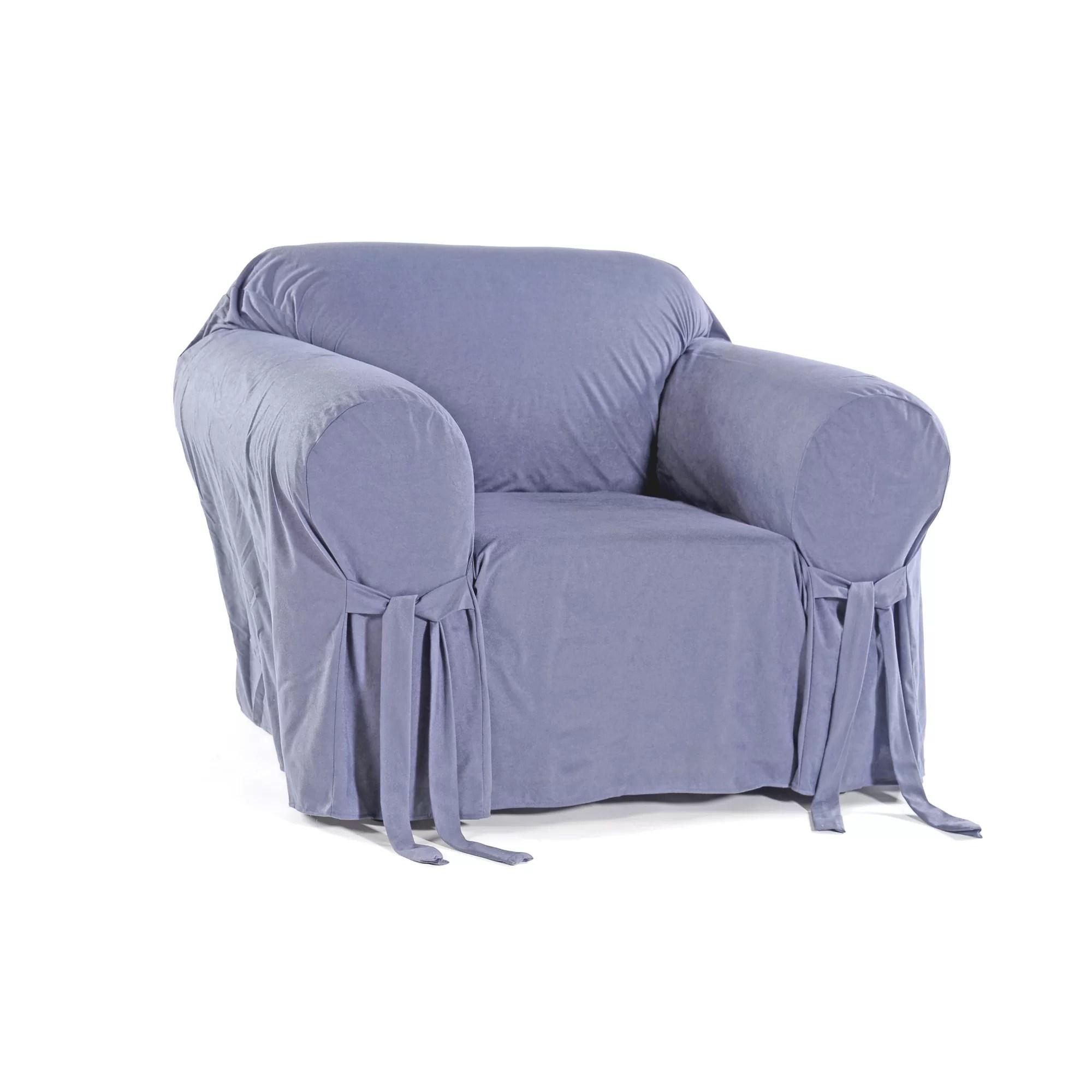 Classic Slipcovers Arm Chair Slipcover  Wayfair