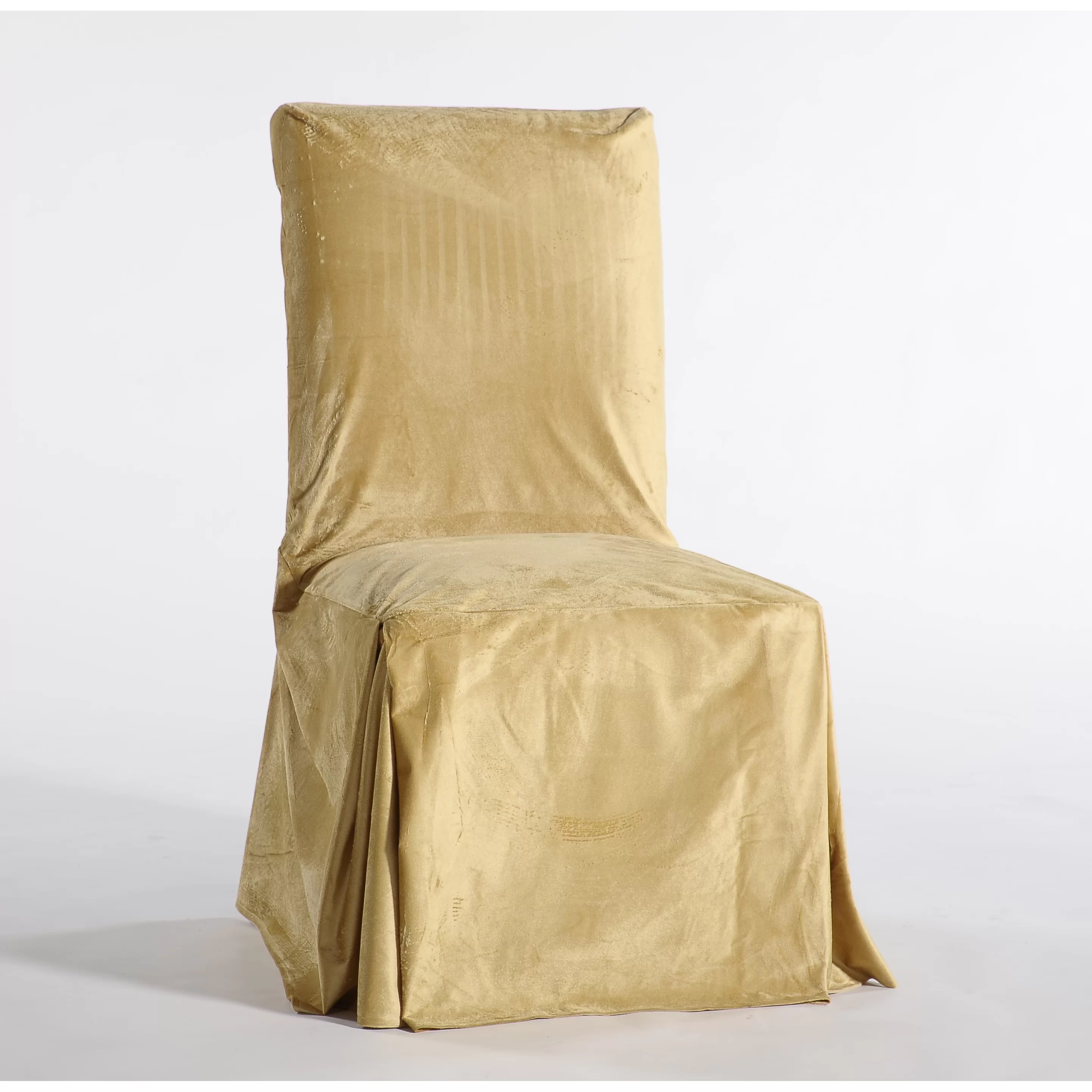 dining chair covers velvet heavy duty recliner lift chairs classic slipcovers royal skirted slipcover