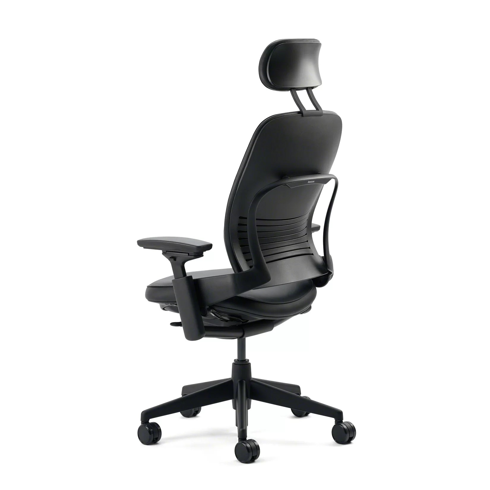 Steelcase Chair Steelcase Leap High Back Leather Desk Chair And Reviews