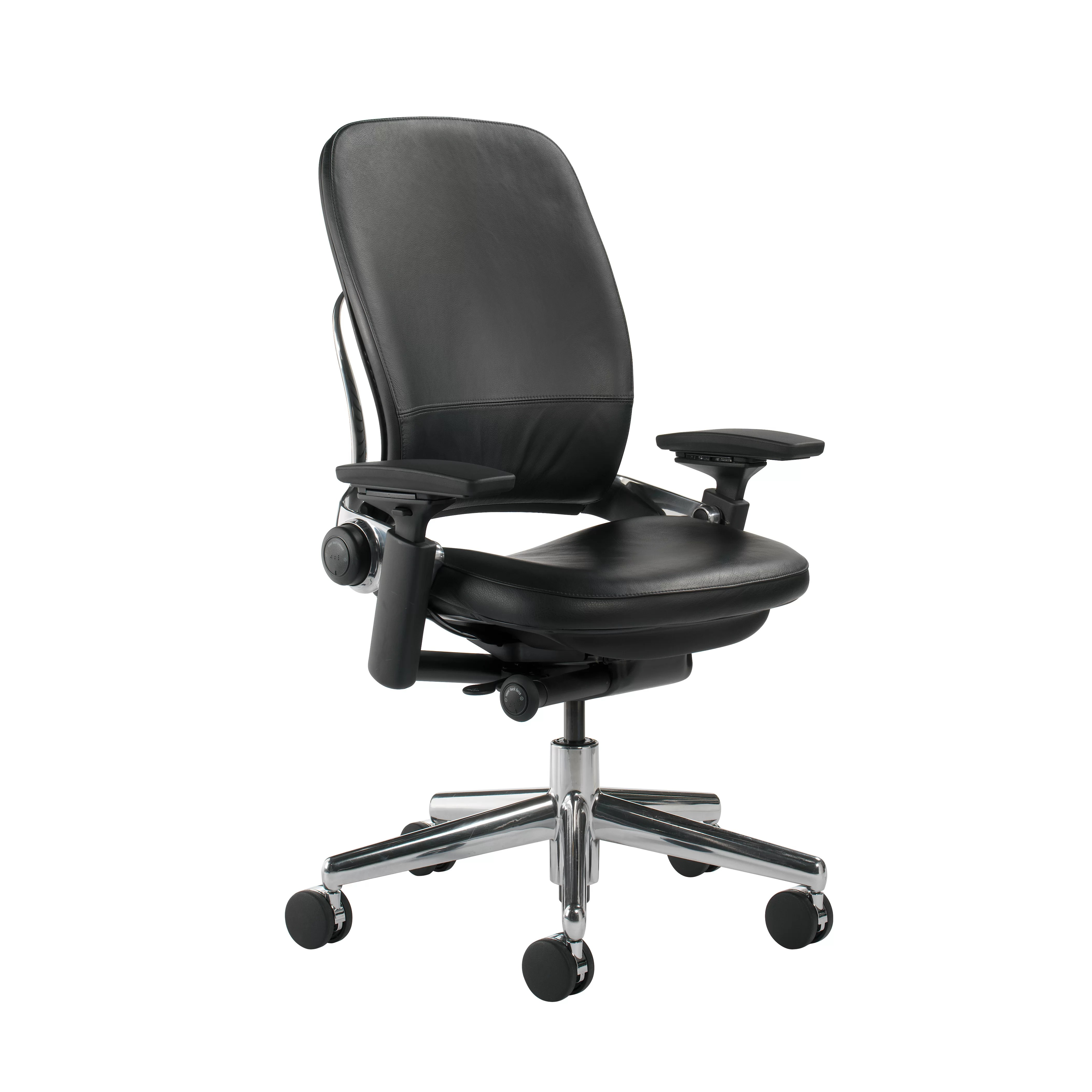 Steelcase Desk Chair Steelcase Leap High Back Leather Desk Chair Wayfair