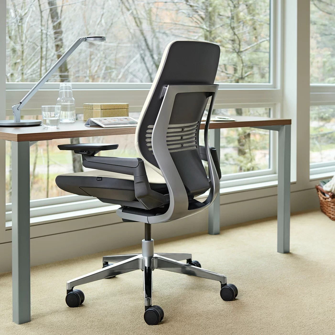 steelcase gesture chair best patio chairs high back desk and reviews wayfair