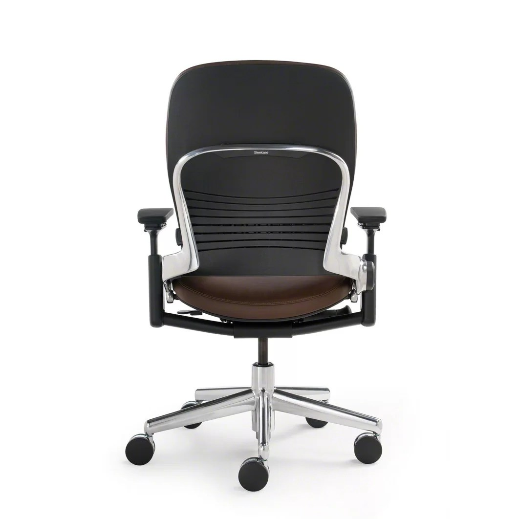 Steelcase Chair Steelcase Leap High Back Leather Desk Chair Wayfair