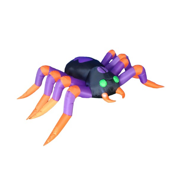 Bzb Goods 8 Foot Long Halloween Inflatable Spider
