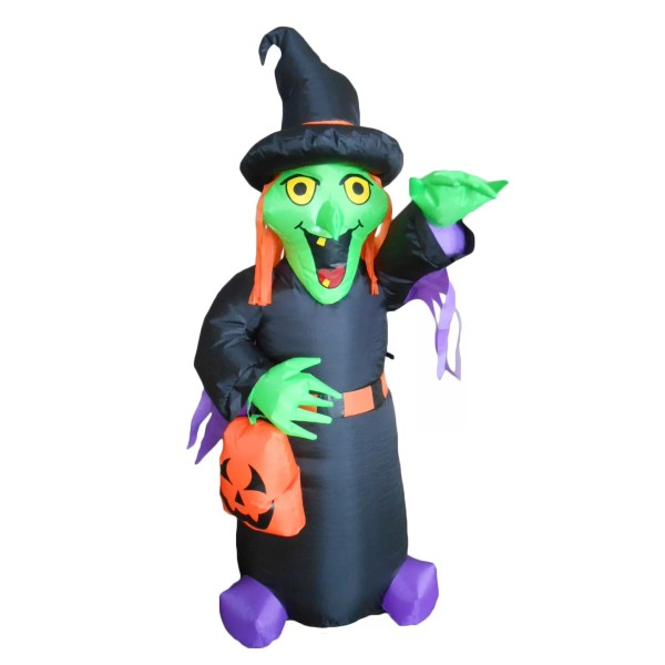 Bzb Goods Halloween Inflatable Witch &