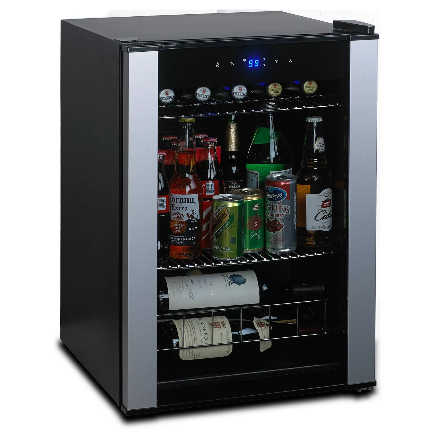 Commercial Glass Door Mini Refrigerator From : Tinfishclematis.com.  Evolution Series Wine Enthusiast Beverage Center