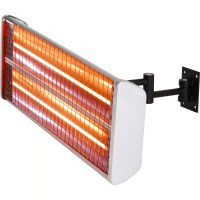 EnerG+ Wall Mount/Hanging Dual Electric Patio Heater ...