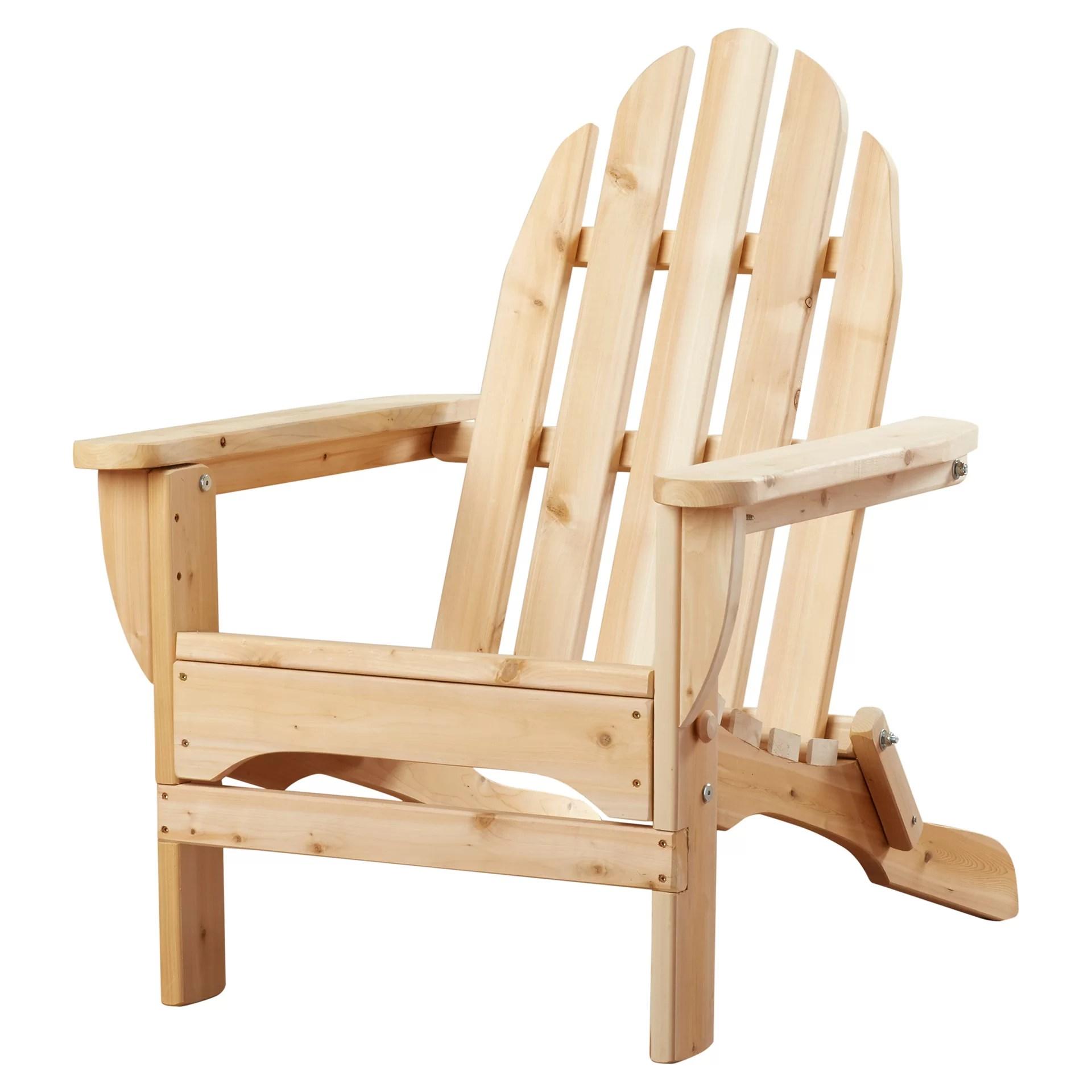 cedar adirondack chairs plans brown dining room rustic chair and reviews wayfair
