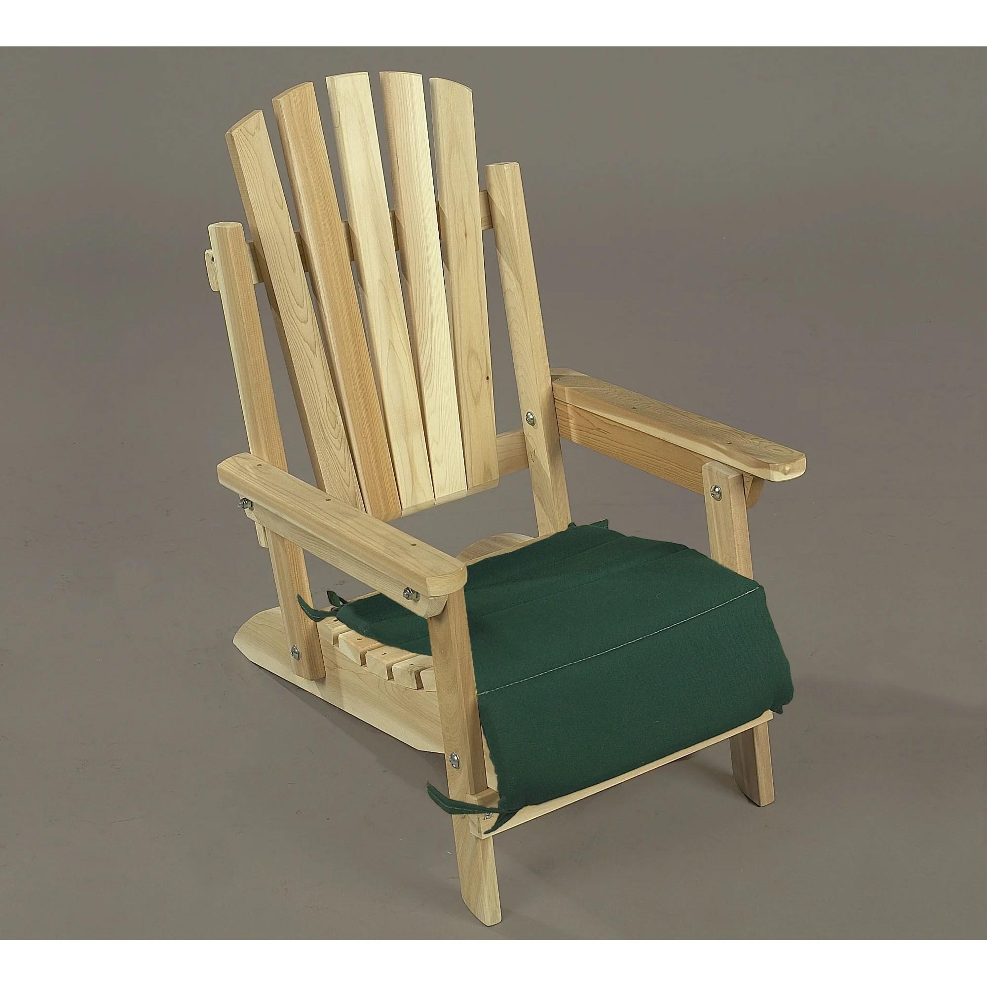 Rustic Cedar Cedar Adirondack Junior Chair  Reviews  Wayfair