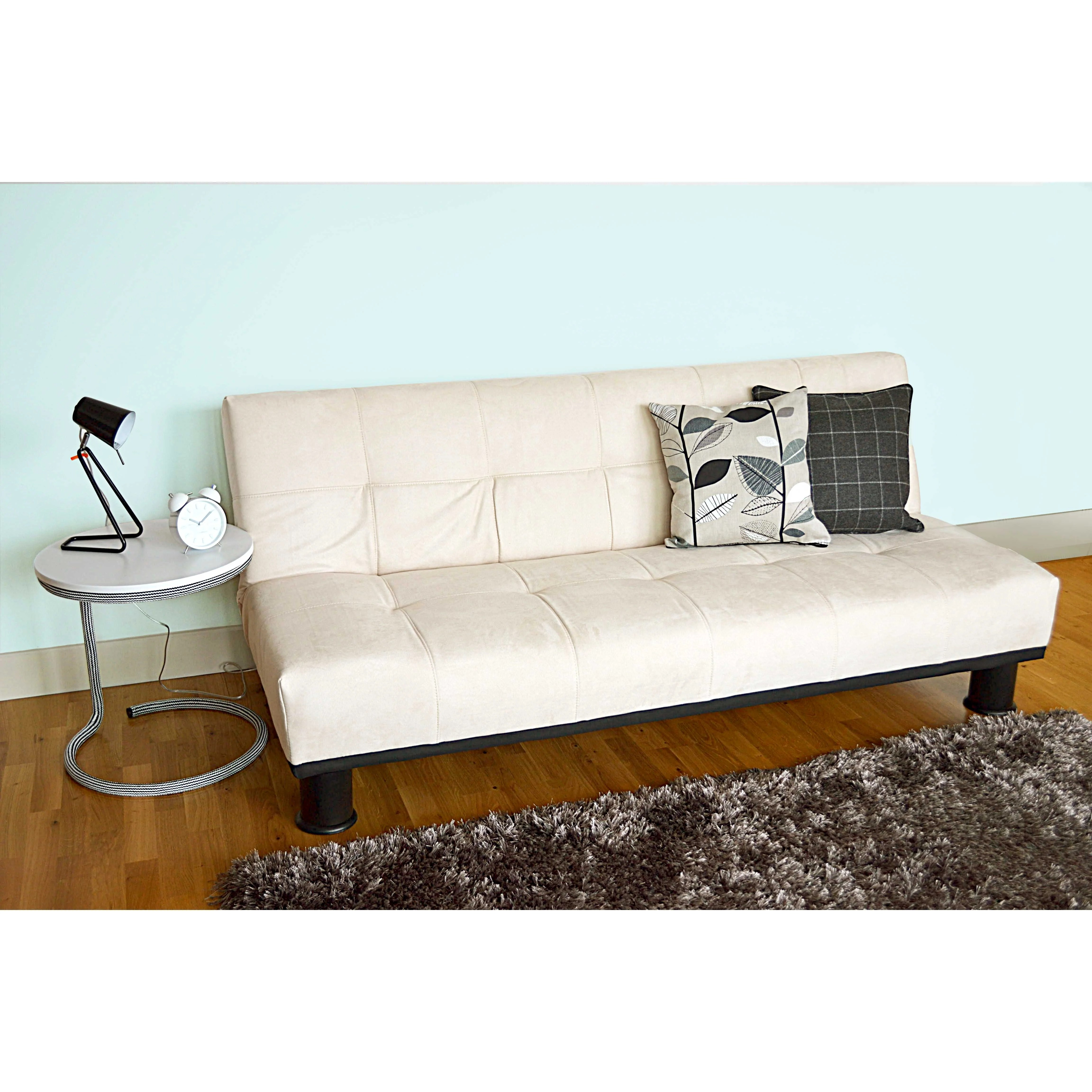 victoria clic clac sofa bed review leather sofas flexsteel leader lifestyle 3 seater and reviews