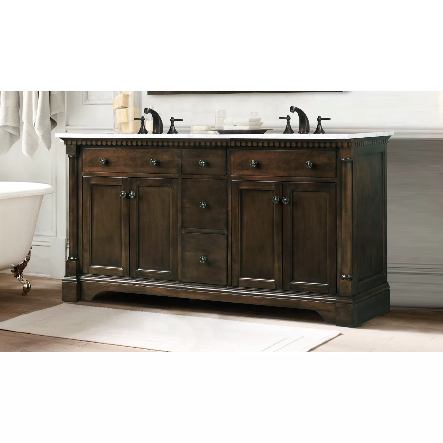 Legion Furniture 60 Double Bathroom Vanity  Reviews