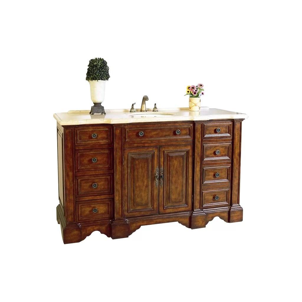 Legion Furniture 58 Single Chest Bathroom Vanity Set