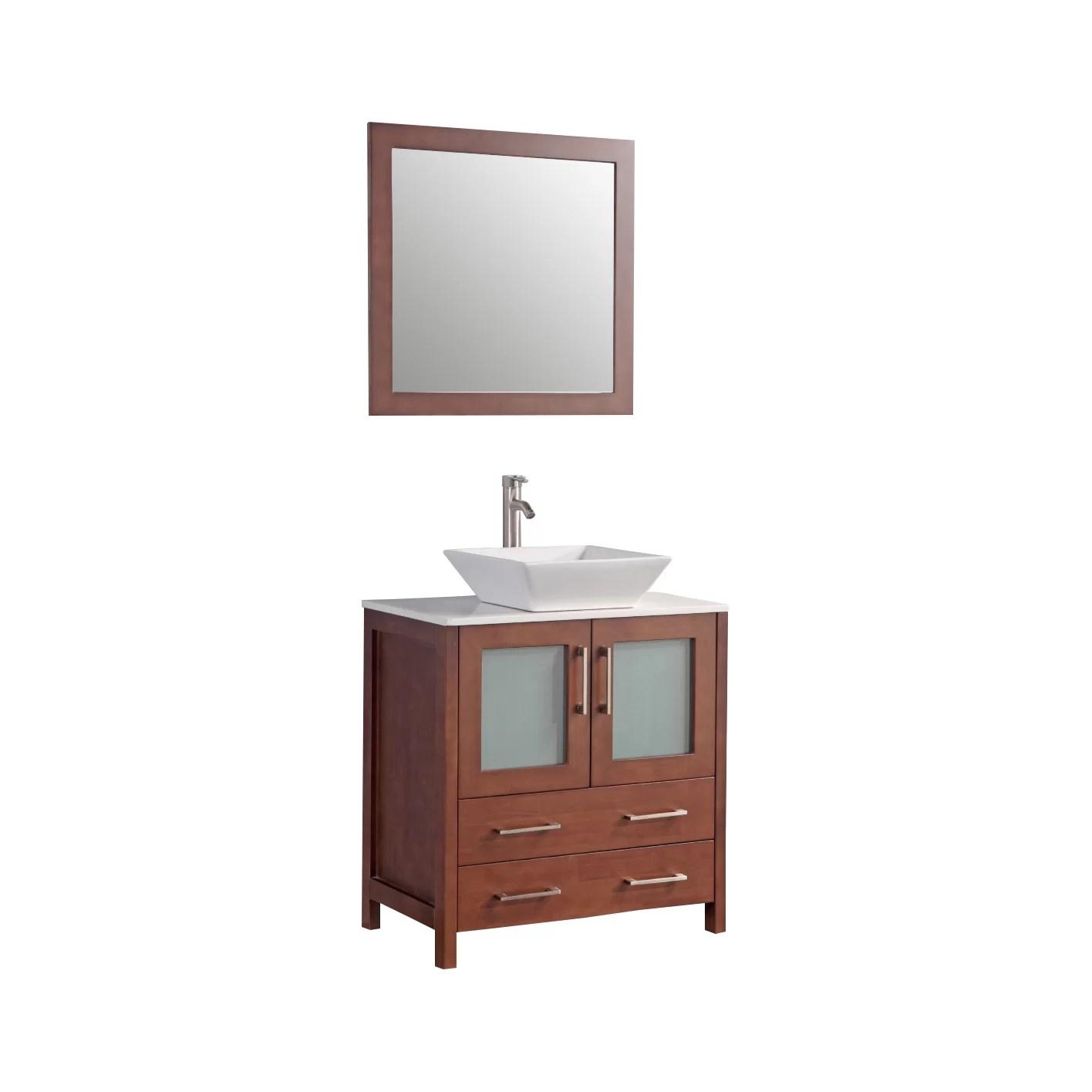 Legion Furniture 30 Single Bathroom Vanity Set with