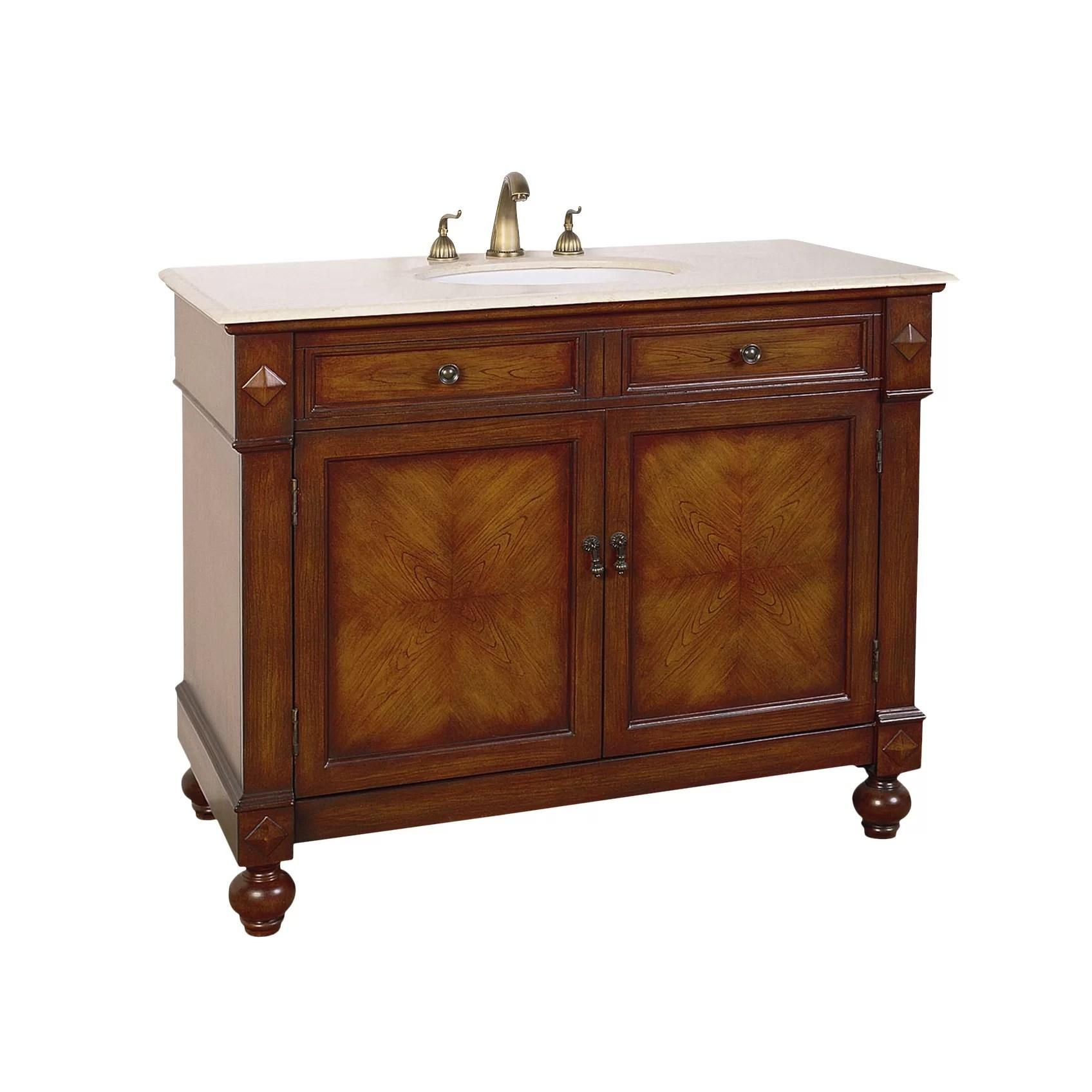 Legion Furniture Hatherleigh 42 Single Chest Bathroom
