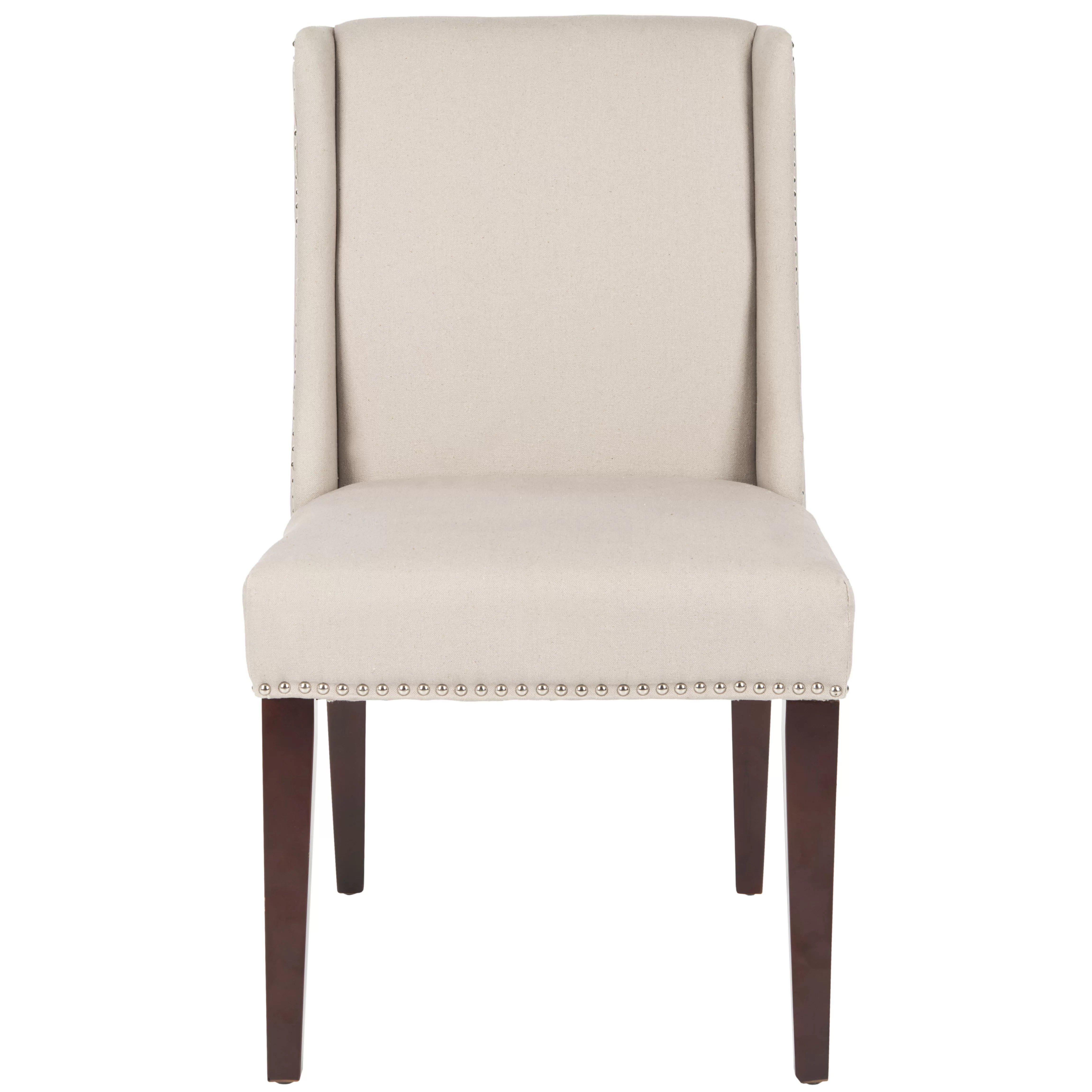 dining accent chairs aluminum folding with webbing safavieh collier solid birch upholstered chair