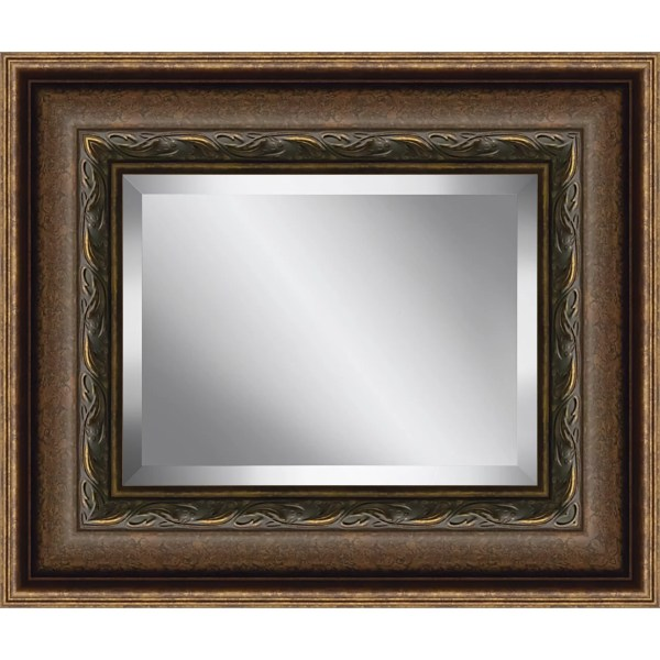 Beveled Glass Mirror Plate