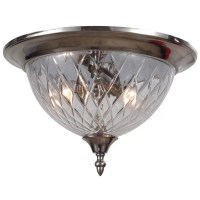 Crystorama Avery 3 Light Flush Mount | Wayfair