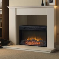 Homestar Flamelux Wide Electric Fireplace & Reviews | Wayfair