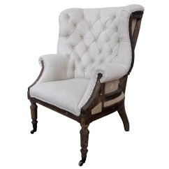 White Tufted Chair Parson Covers Target X Taverny Arm And Reviews Wayfair
