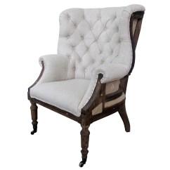 White Tufted Chair Folding Easy Nilkamal X Taverny Arm And Reviews Wayfair