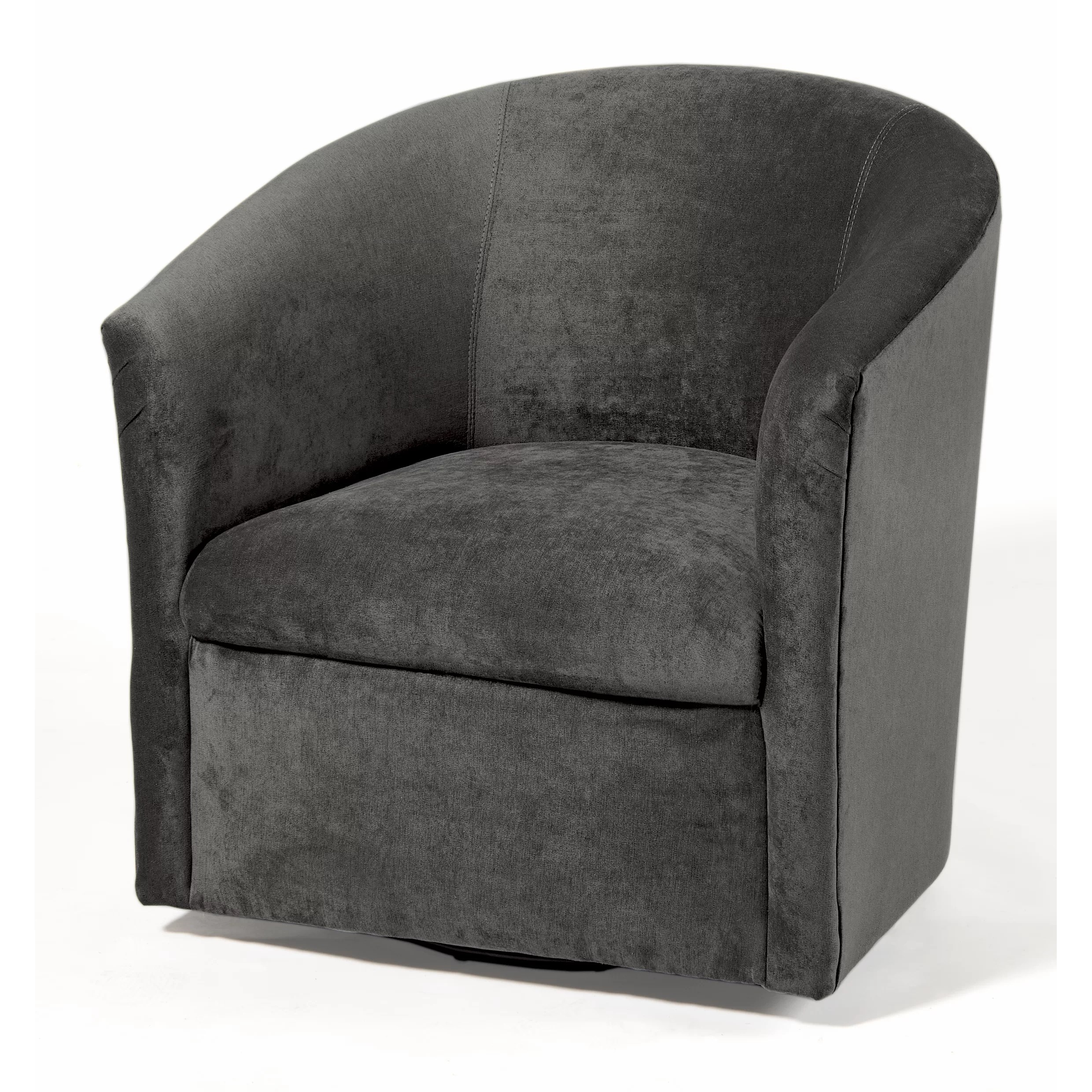 Barrel Chair Swivel Comfort Pointe Elizabeth Swivel Barrel Chair And Reviews