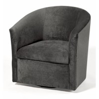 Comfort Pointe Elizabeth Swivel Barrel Chair & Reviews ...