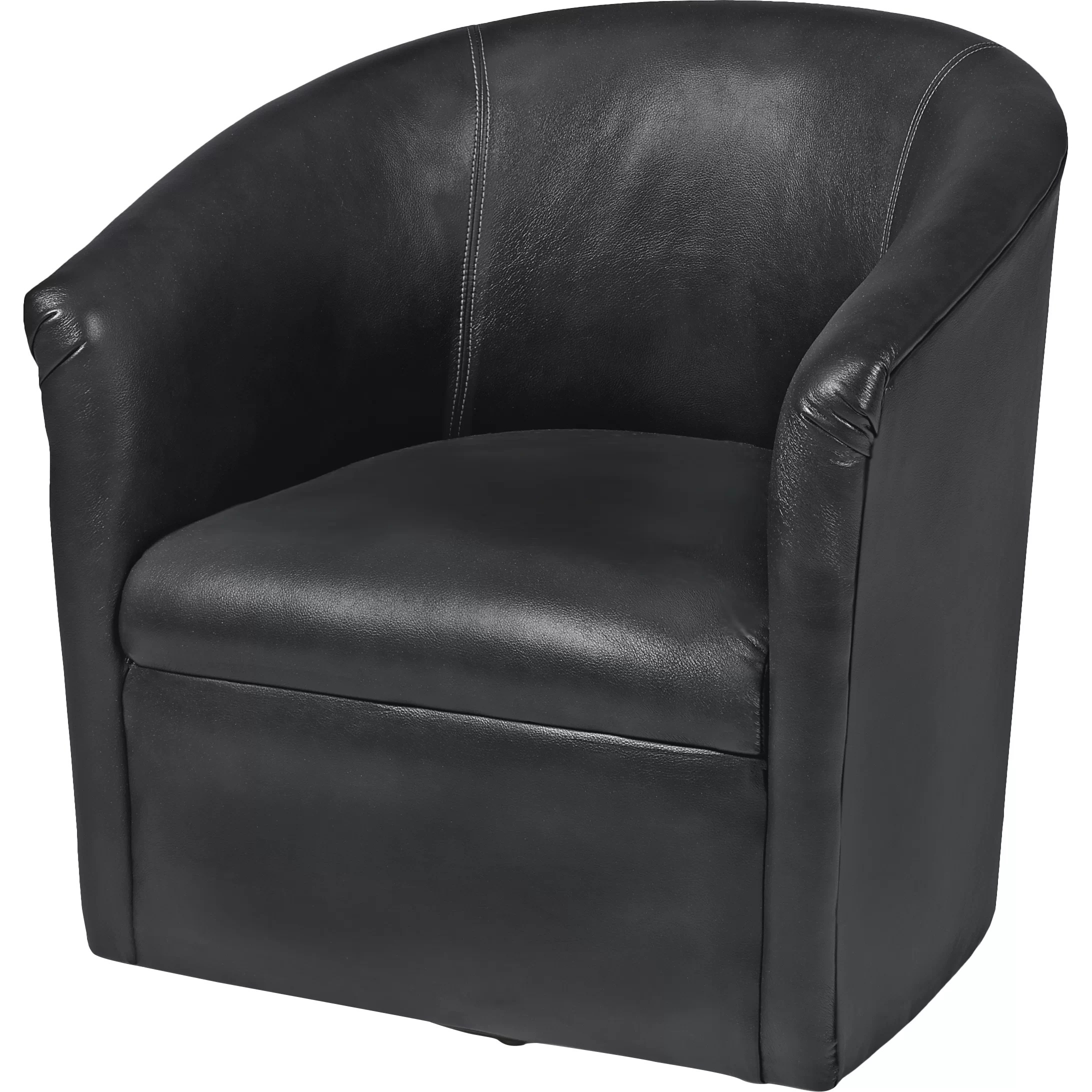 Barrel Chair Swivel Comfort Pointe Draper Swivel Barrel Chair And Reviews Wayfair