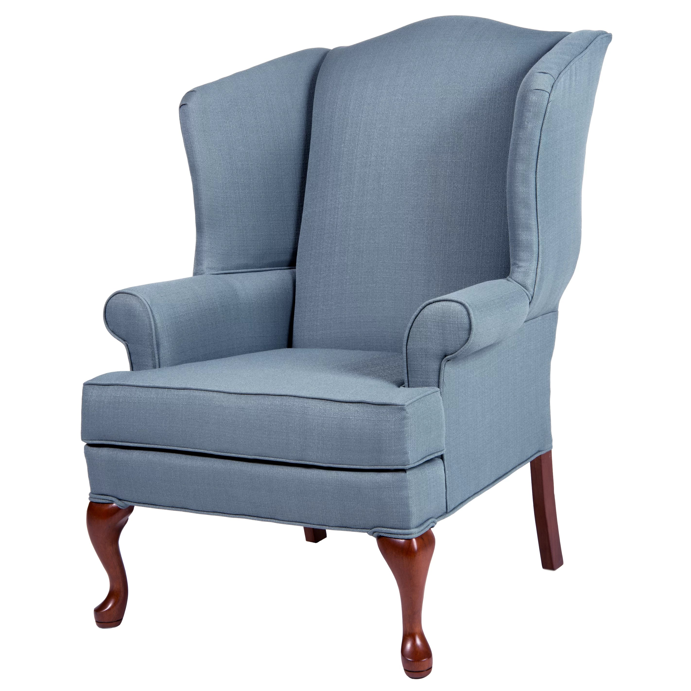 Wing Back Chairs Comfort Pointe Erin Wing Back Chair And Reviews Wayfair