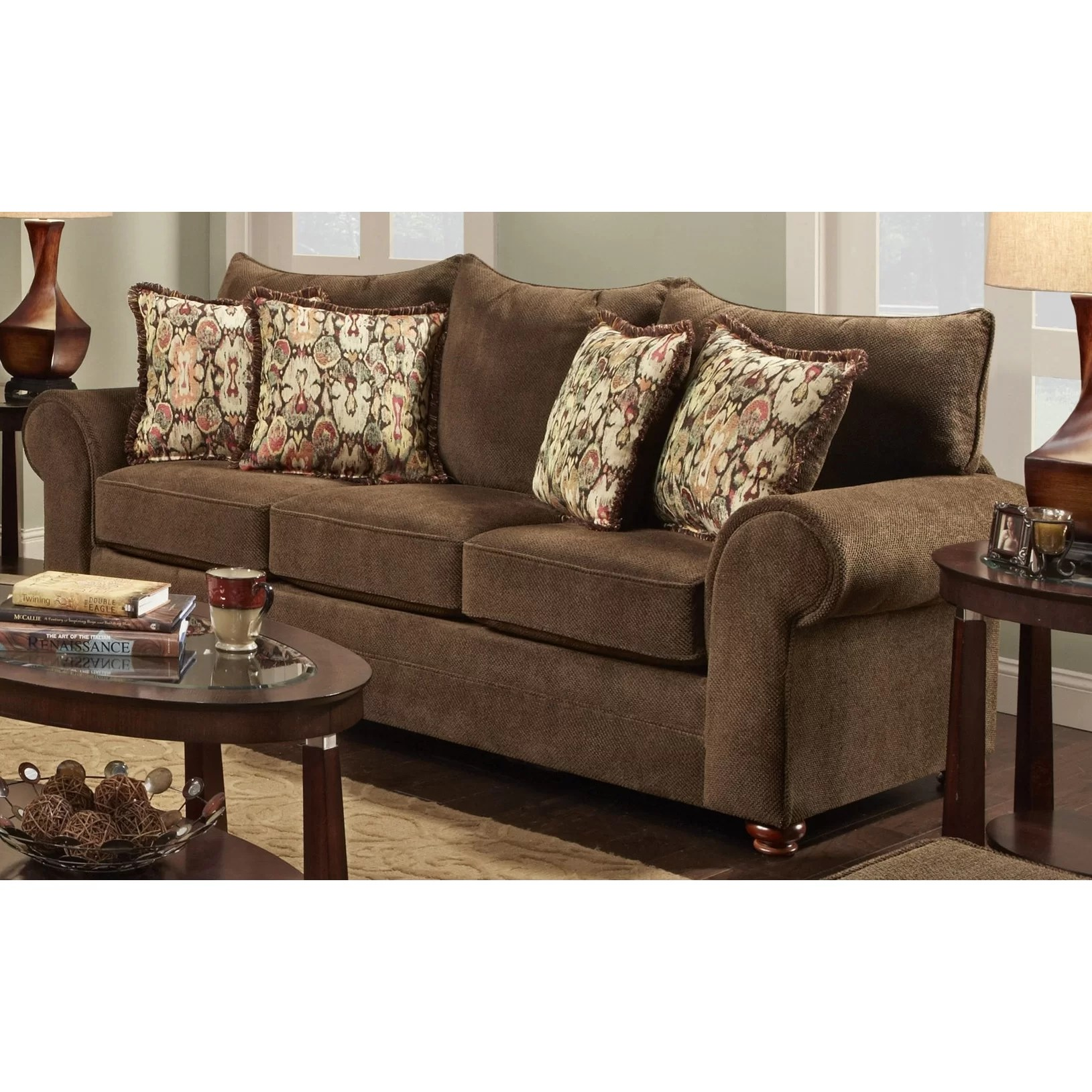 chelsea square sofa the leather co ashington home astrid and reviews wayfair