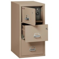 FireKing Legal Safe-In-A-File Fireproof 2-Drawer Vertical ...